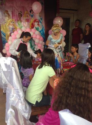 Princess Cinderella Tea Party For Rental In Houston Texas