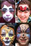 full facepainting in houston for birthday parties