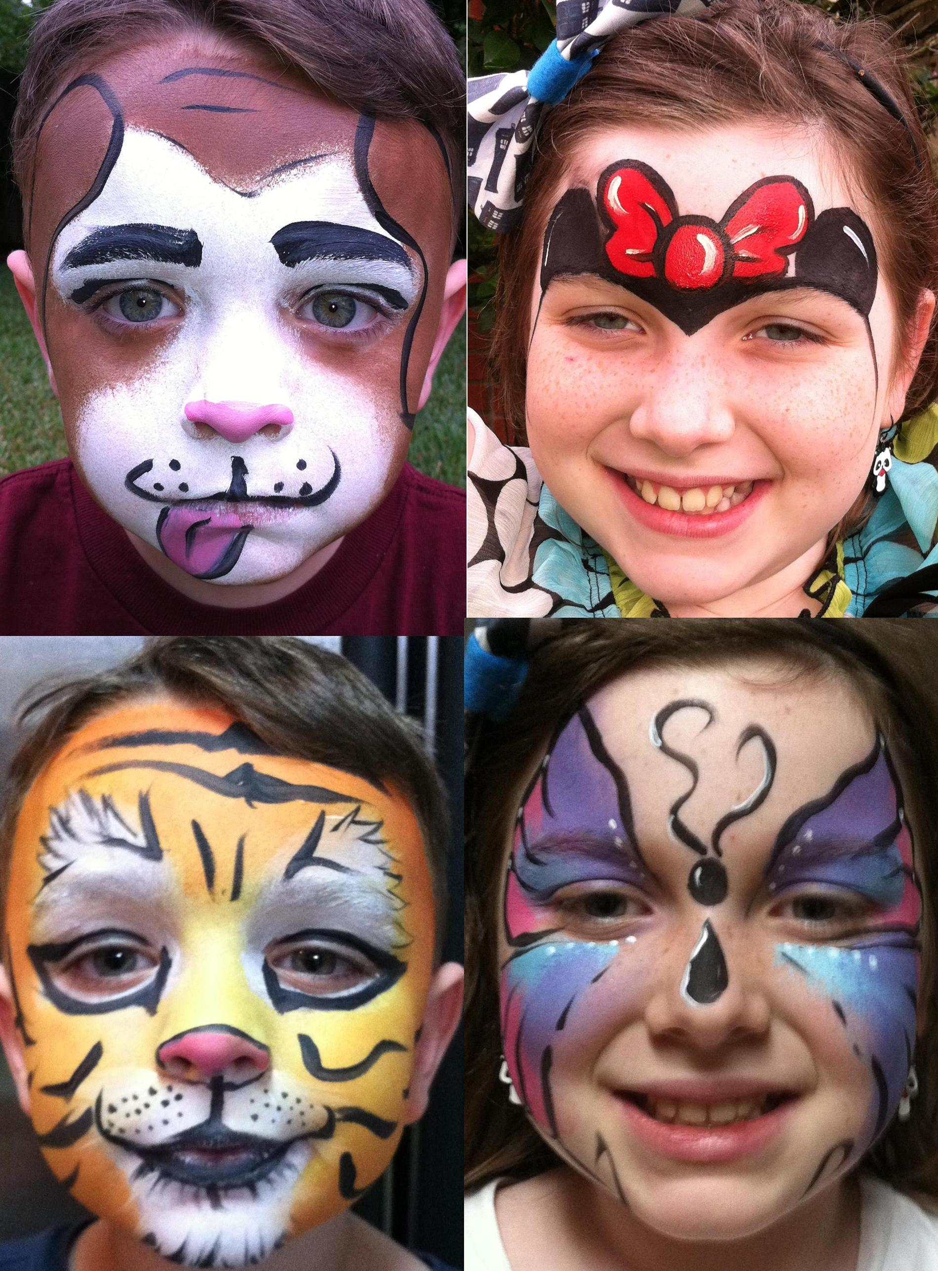 Compare our prices with the other companies in houston texas for Face painting for parties