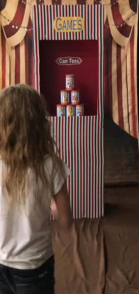 The can toss game is the most iconic carnival game. We have that and 7 more awesome carnival games made to excite your party guests in Houston.