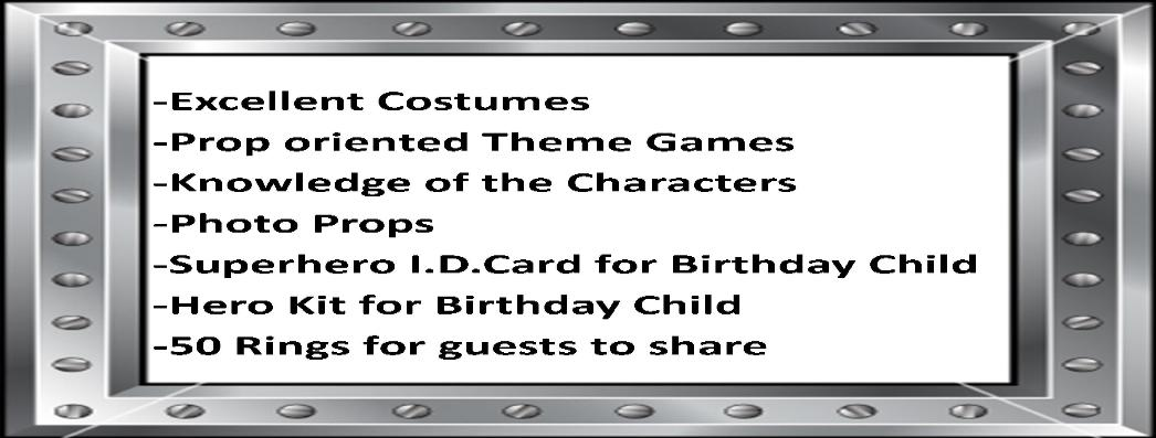 Houston Superhero Party Housto Super Heroes Birthday Parties Costumed Characters In
