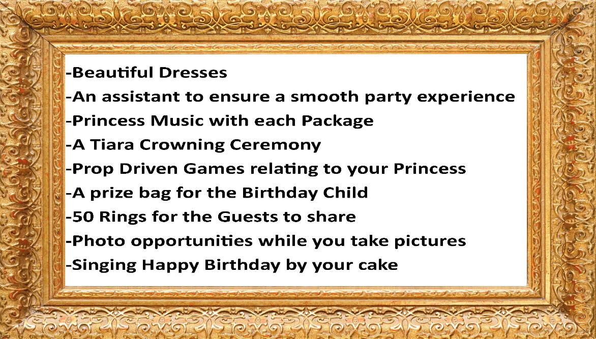 Princess Party Characters For Girls Birthdays In Houston Texas
