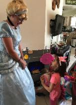 Hire aprincess costumed character for your cinderella birthday party in Houston, Texas.