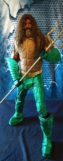 Hire this atlantian king to your Houston birthday party. Have trident will travel with cool games, awesome costumes, ang great props.