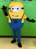 despicable me cosplay for a minion birthday party in houston, texas.