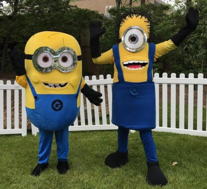 Hire these fun loving mascot pals to play games at your Houston birthday Parties. Everyone loves the Minions.