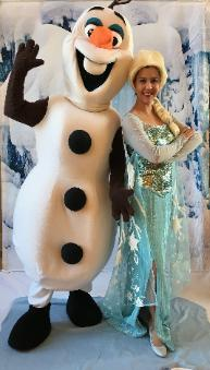 Princess party in Houston featuring mascots and princesses for birthday parties to perform at your little princesses birthday party to play games and activities that relate to this icey theme.