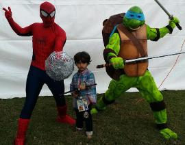 Houston kids party experts has all the popular super hero costumed characters for your next birthday party event.